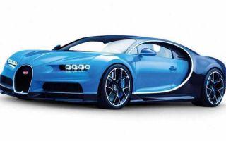 Bugatti Chiron (Бугатти Шерон) 2016