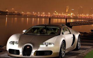 Золотой Бугатти Вейрон (Bugatti Veyron Gold Edition 2009)