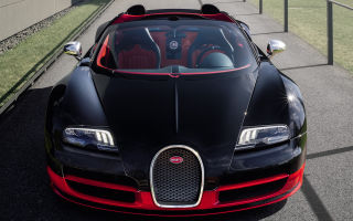 Фото Bugatti Veyron Grand Sport Vitesse