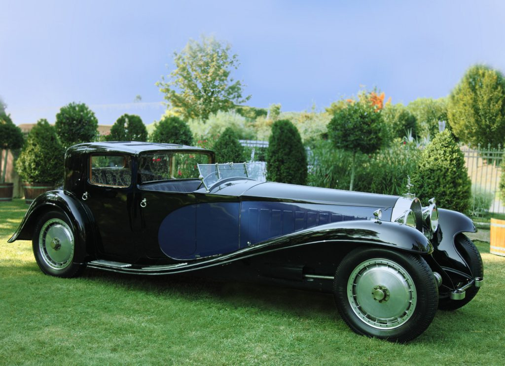 Фото Bugatti Type 41 Royale Coupe 1930 года