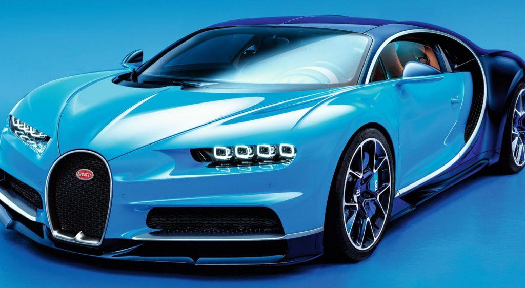 Фото Bugatti Chiron 2016 года