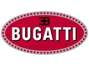 Логотип фирмы Bugatti