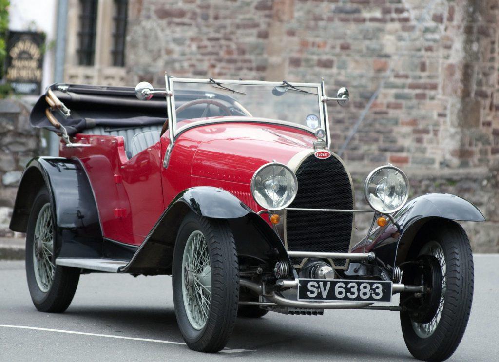 Фото Bugatti Type 40 Rroadster 1927 года