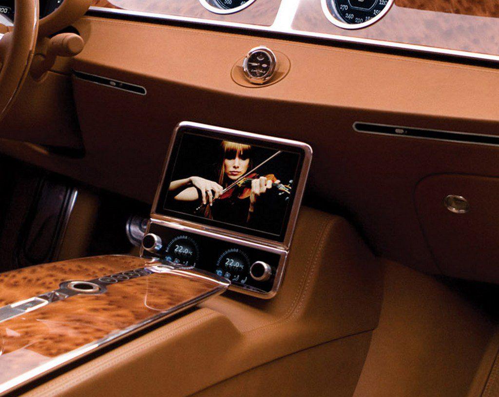 Авто Bugatti 16c Galibier 2009 года съемный жидкокристаллический экранфото 17