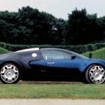 Концепт Bugatti EB 18.4 Veyron 1999 года фото 2