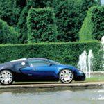 Концепт Bugatti EB 18.4 Veyron 1999 года фото 4