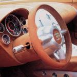 Концепт Bugatti EB 18.4 Veyron 1999 года салон фото 8