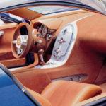 Концепт Bugatti EB 18.4 Veyron 1999 года салон фото 9