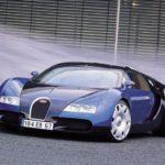 Концепт Bugatti EB 18.4 Veyron 1999 года фото 11