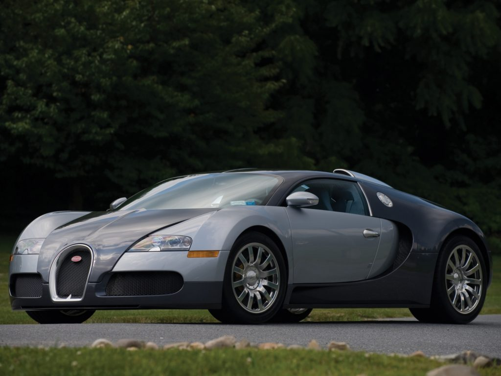 Авто Bugatti Veyron 16.4 North America 2006–11 фото 12