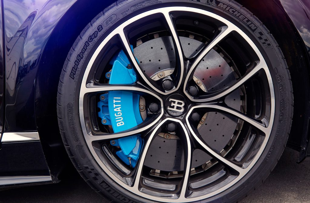 Шины Michelin для Bugatti Chiron