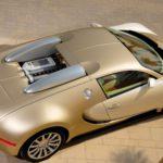Золотой Бугатти Вейрон - Bugatti Veyron Gold Edition 2009 фото 11