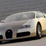 Золотой Бугатти Вейрон - Bugatti Veyron Gold Edition 2009 фото 12