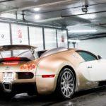 Золотой Бугатти Вейрон - Bugatti Veyron Gold Edition 2009 фото 16