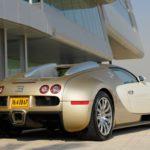 Золотой Бугатти Вейрон - Bugatti Veyron Gold Edition 2009 фото 6