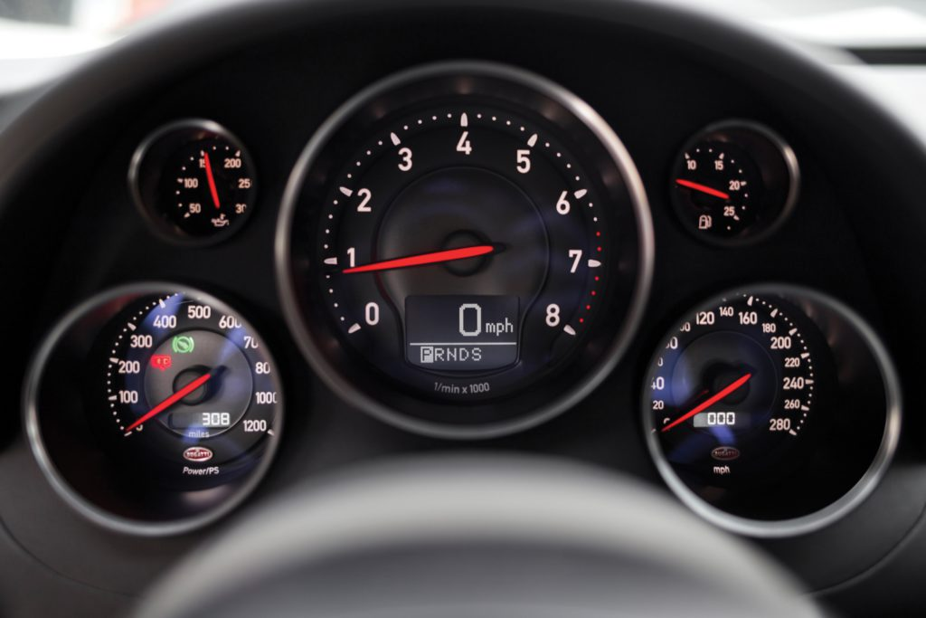 Bugatti Veyron 16.4 Super Sport North America 2010 спидометр