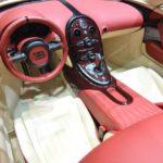 Bugatti Veyron Grand Sport Vitesse La Finale салон фото 4