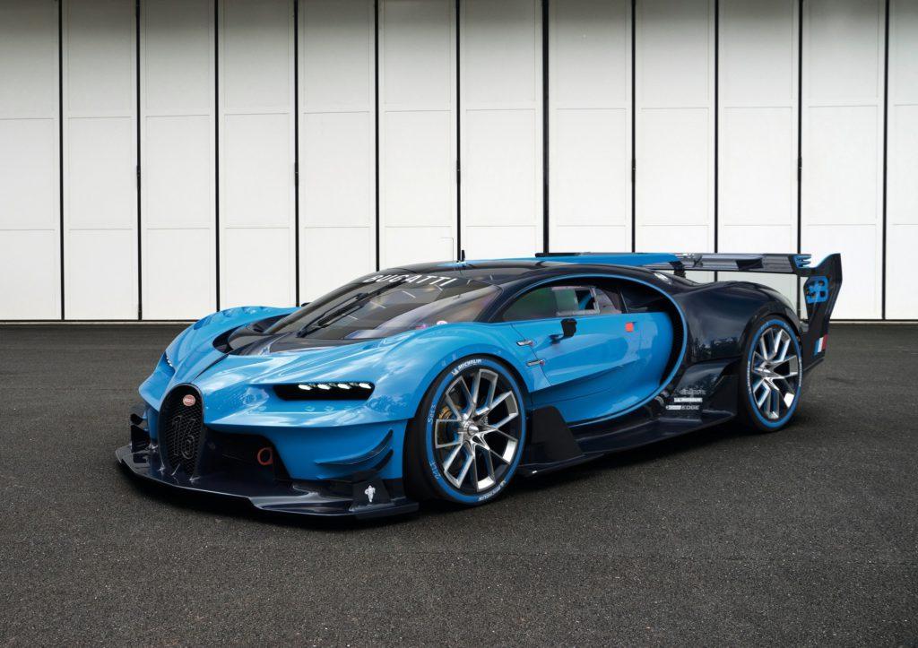 Bugatti Gran Turismo Vision фото 2